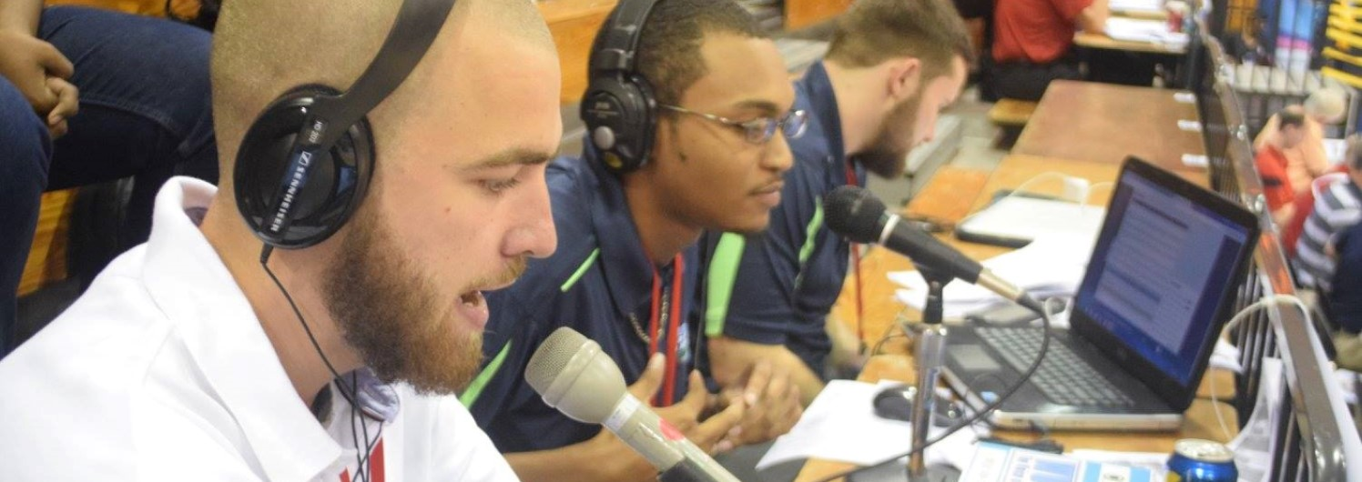 Student Commentators at Paradise Jam